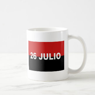 M-26-7旗- Bandera del Movimiento 26 deフリオ コーヒーマグカップ