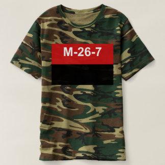 M-26-7旗- Bandera del Movimiento 26 deフリオ Tシャツ