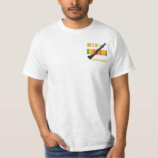 M-79擲弾兵- Woodstockのうなり声スタイルのワイシャツ Tシャツ