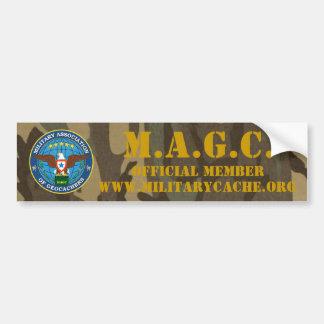 M.A.G.C. 公式のメンバー バンパーステッカー