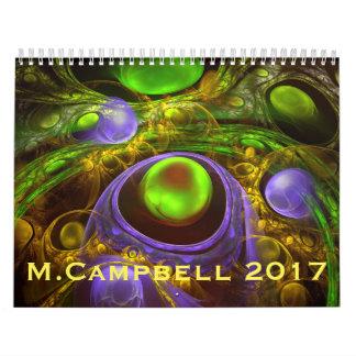 M.Campbellのカレンダー2017年 カレンダー