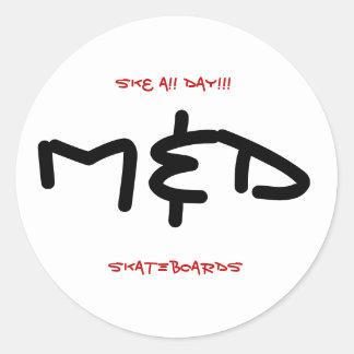 M&D SK8 A!! 日!!! ステッカー