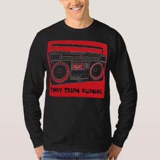 m_front_detail、ファンキーで新しい衣類 tシャツ
