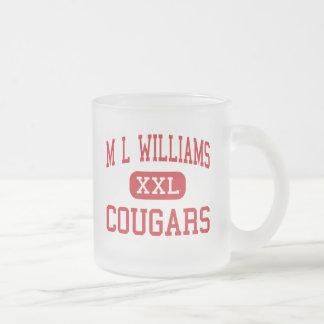 M Lウィリアムス-クーガー-後輩-オークランドメイン フロストグラスマグカップ