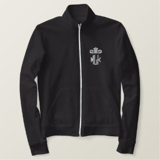 M.LKのウォーミングアップ 刺繍入りジャケット