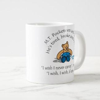 M.Tは大きいマグを懐に入れます ジャンボコーヒーマグカップ