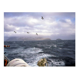 M/V Tiglaxの海1990年の嵐 ポストカード