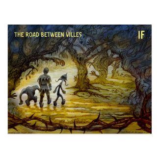M. Winterbauer著作のVillesの郵便はがき間の道 ポストカード