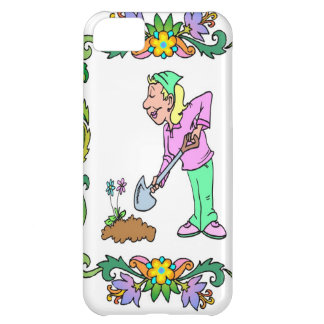 Maは庭を掘ります iPhone5Cケース