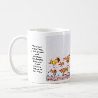 "Ma Theuの第2グレーダー""鶏"" コーヒーマグカップ"