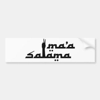Ma'a Salama バンパーステッカー