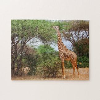 Maasaiのキリン ジグソーパズル