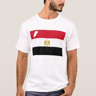 Maatのエジプト人の旗の羽 Tシャツ