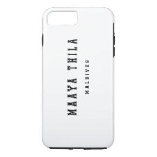 Maaya Thilaモルディブ iPhone 8 Plus/7 Plusケース