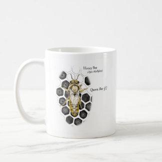 MABAの蜂蜜の蜂の女王のマグ コーヒーマグカップ