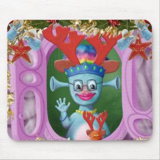 Mabel及びセドリック女王。 メリークリスマス! マウスパッド