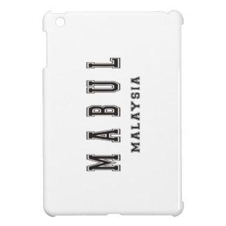 Mabulマレーシア iPad Mini カバー