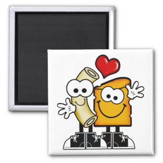 Macおよびチーズ磁石 マグネット