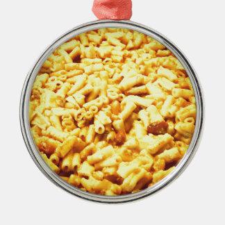 Macおよびビーガンのチーズ… メタルオーナメント