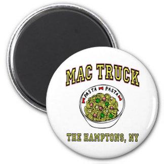 Macのトラックマカロニ マグネット