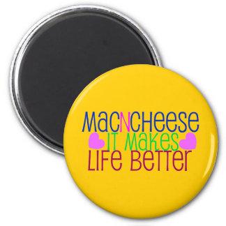 Mac及びチーズ生命 マグネット