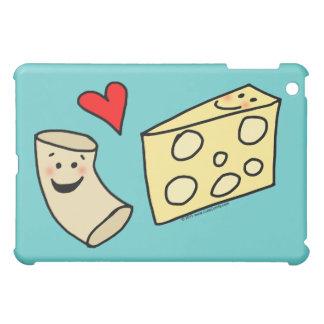 Mac愛チーズ、おもしろいでかわいいマカロニ + チーズ iPad mini カバー