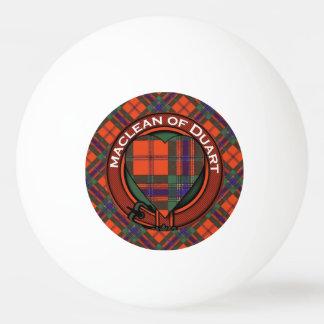 MacAlleyの一族の格子縞のスコットランドのキルトのタータンチェック 卓球ボール