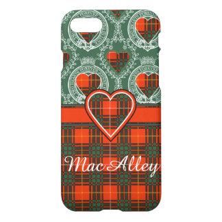 MacAlleyの一族の格子縞のスコットランドのキルトのタータンチェック iPhone 8/7 ケース