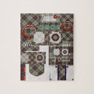MacAndrewの一族の格子縞のスコットランドのキルトのタータンチェック ジグソーパズル