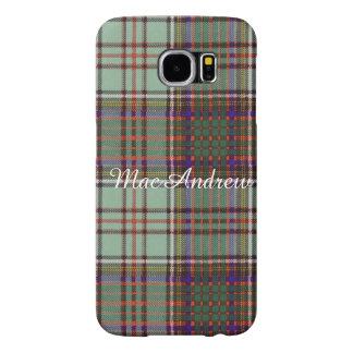 MacAndrewの一族の格子縞のスコットランドのキルトのタータンチェック Samsung Galaxy S6 ケース
