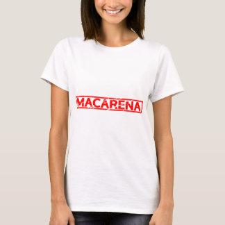 Macarenaのスタンプ Tシャツ