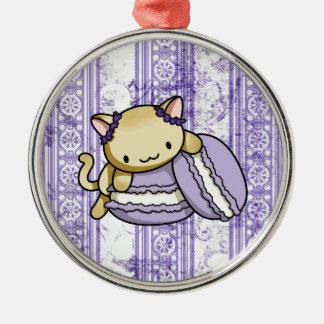 Macaronの子猫 メタルオーナメント