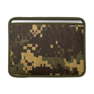 MacBookの空気袖-カムフラージュ-デジタル砂漠 MacBook スリーブ