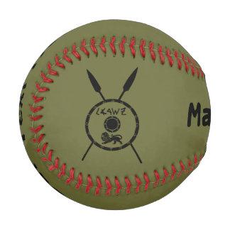 Maccabeeの抑制された盾およびやり 野球ボール