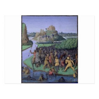 MaccabeesとBacchides間の戦い ポストカード