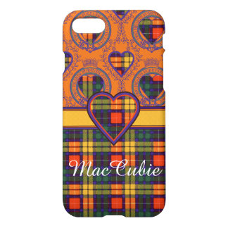 MacCubieの一族の格子縞のスコットランドのキルトのタータンチェック iPhone 8/7 ケース