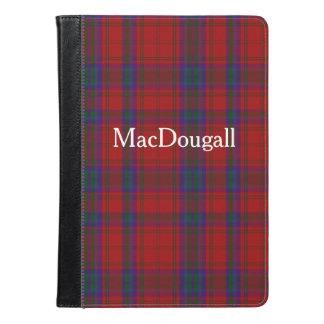 MacDougallのタータンチェック格子縞のiPadの空気フォリオ iPad Airケース
