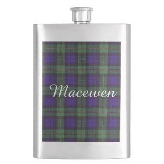 Macewenの一族の格子縞のスコットランド人のタータンチェック フラスク