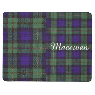Macewenの一族の格子縞のスコットランド人のタータンチェック ポケットジャーナル