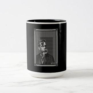 Machado de Assis - caneca ツートーンマグカップ
