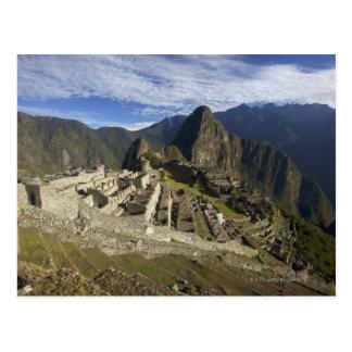 Machu Picchuのユネスコの世界遺産、Aguas ポストカード