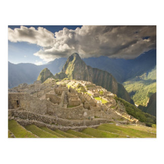 Machu Picchuの古代台なし、ユネスコの世界2 ポストカード