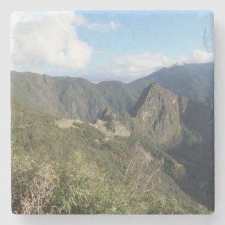 Machu Picchuの大理石の石造りのコースター ストーンコースター