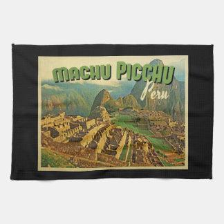 Machu Picchuペルー キッチンタオル