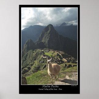 Machu Picchuポスター(世界の7つの驚異) ポスター