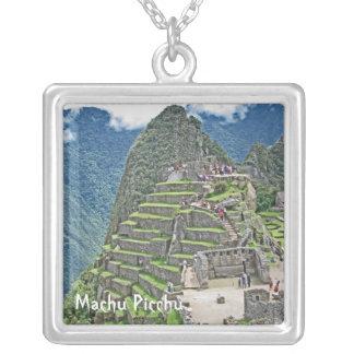 Machu Picchu シルバープレートネックレス