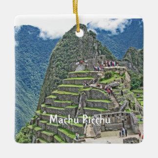 Machu Picchu -ペルーの宝物 セラミックオーナメント