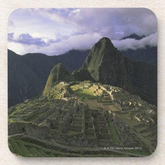 Machu Picchu、ペルーの空中写真 コースター