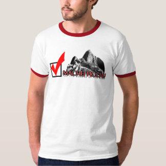 Machu Picchu: 点検! Tシャツ