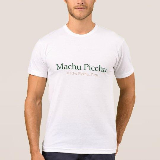 Machu Picchu, PeruMachu Picchu Tシャツ
